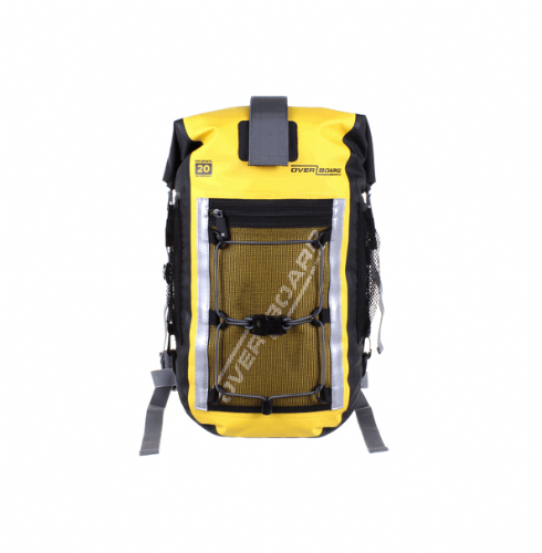 Overboard 20 Litre Pro-Sports Backpack Yellow 44 x 24 x 19cm 0.97kg